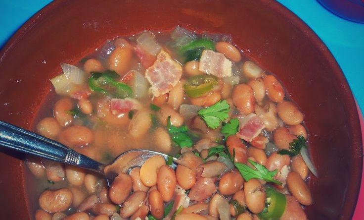 "Frijoles a la Charra /Frijoles Borrachos (""Drunk"" Pinto Beans)   Hispanic Kitchen"