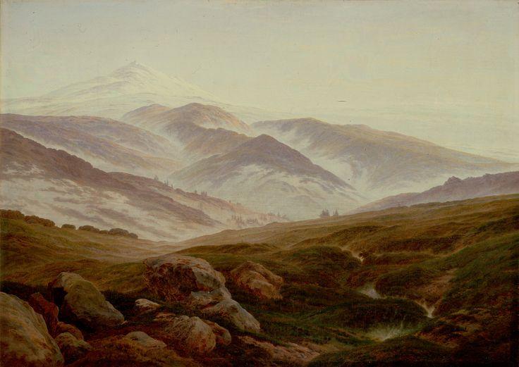 Riesengebirge (Memories of the Riesengebirge).  Caspar David Friedrich
