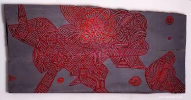 "Saatchi Art Artist Kuba Zeligowski; Painting, ""Where are you running? You have everything"" #art"
