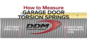 Ddm Garage Doors Torsion Spring