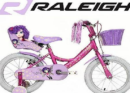 Raleigh Girls Molli 16 inch Bike - Pink Funky, cool, amazing, the Molli is 16 wheeled popular girls pavement bike, built to impress at the park as well! Now with lightweight aluminium frame, with a pretty liver (Barcode EAN = 5023857521462) http://www.comparestoreprices.co.uk/latest2/raleigh-girls-molli-16-inch-bike--pink.asp