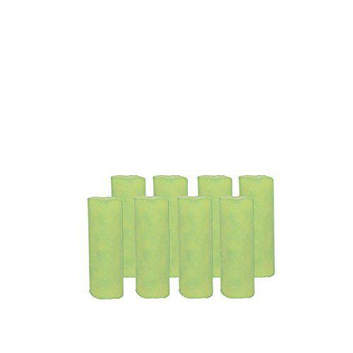 Abflussfee 00761 Duftstein Nachf�llset (8 Duftsteine, Apfel-Zitrone-Geruch, gr�n)