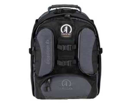 #Tamrac 5586 Expedition 6x #Photo/Laptop #Backpack (Black). The Expedition 6x is the ideal medium-size pack for a generous amount of photo equipment. The main compartment is completely foam padded with numerous adjustable, foam-padded dividers to protect digital and film SLRs with lenses attached, 5-6 additional lenses, and a flash. http://cameramallplus.com/awmr