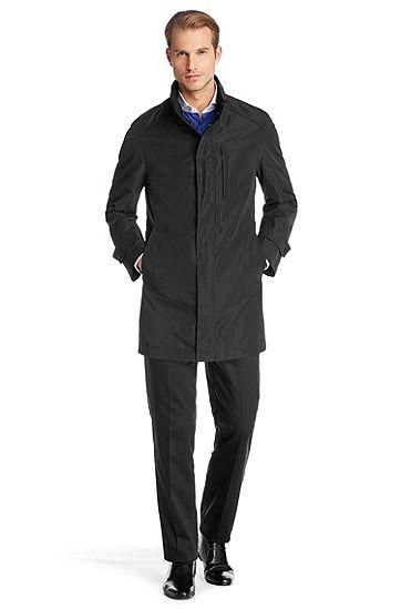 Water-repellent trench coat 'The Partner2', Black