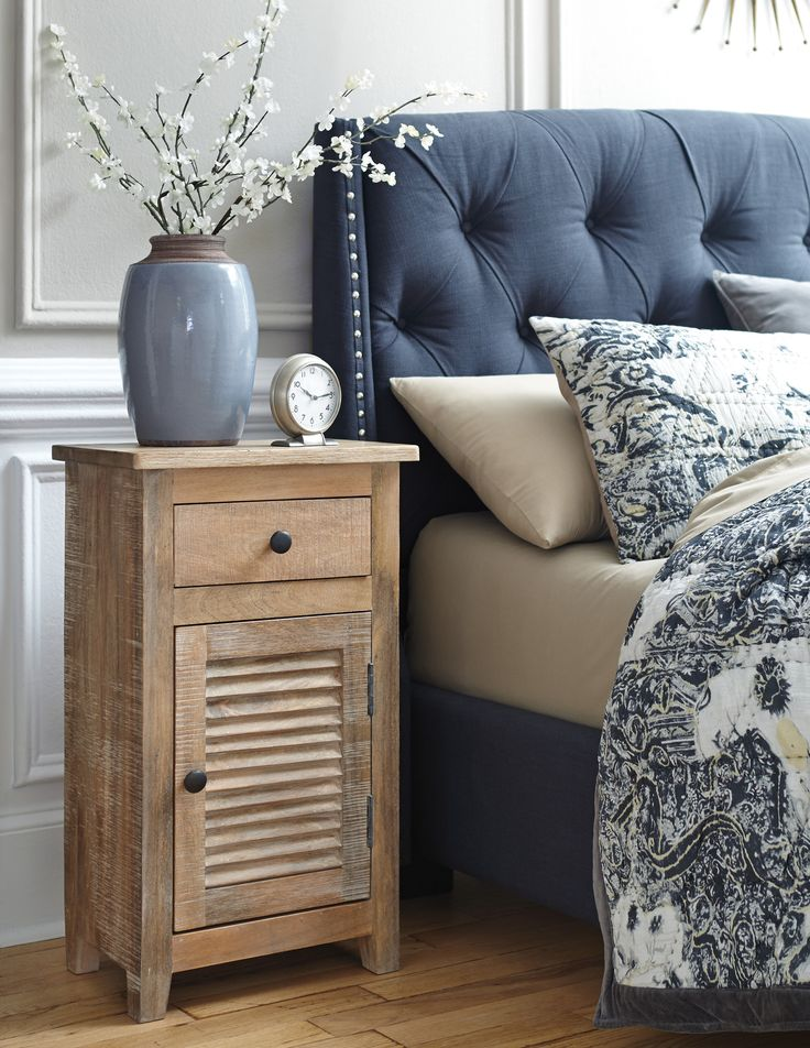 Bedroom Decor: Charlowe Nightstand by Ashley Furniture at Kensington Furniture. Part of the Elements Collection by Ashley