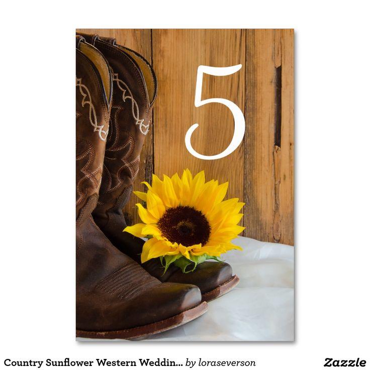 Números occidentales de la tabla del boda del