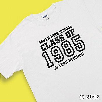 reunion t shirt - White T Shirt Design Ideas