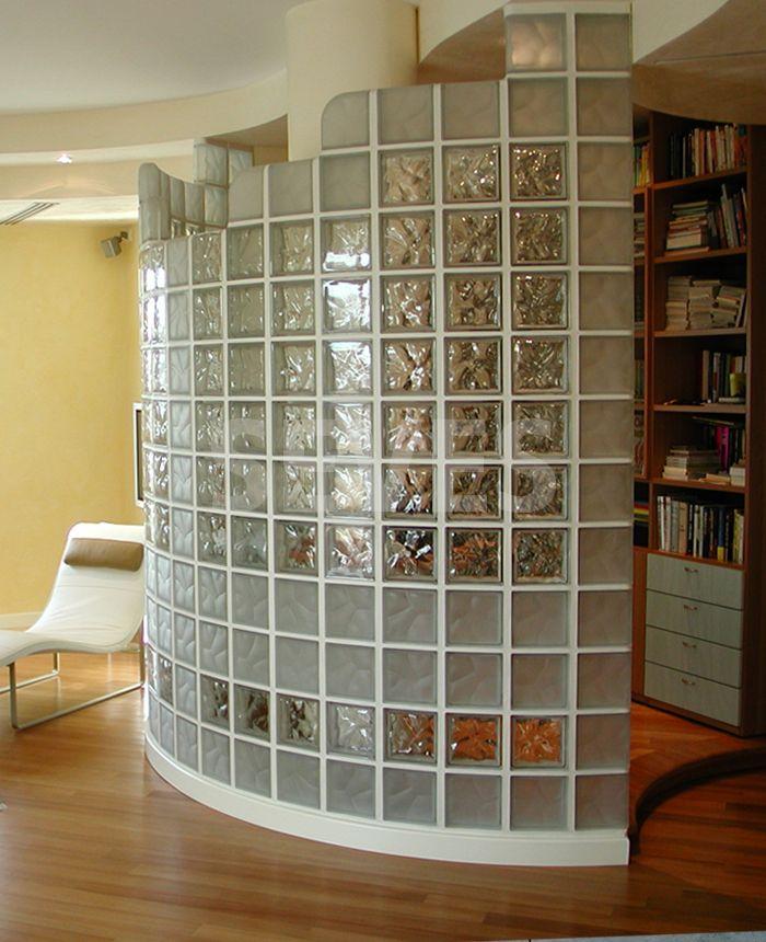 Pareti divisorie in vetro per interni casa yv56 - Pareti divisorie mobili per abitazioni ...