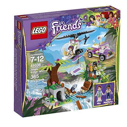 LEGO Friends Jungle Bridge Rescue 41036 Building Set LEGO http://smile.amazon.com/dp/B00J4S4CL2/ref=cm_sw_r_pi_dp_q6cTvb08BAMM4