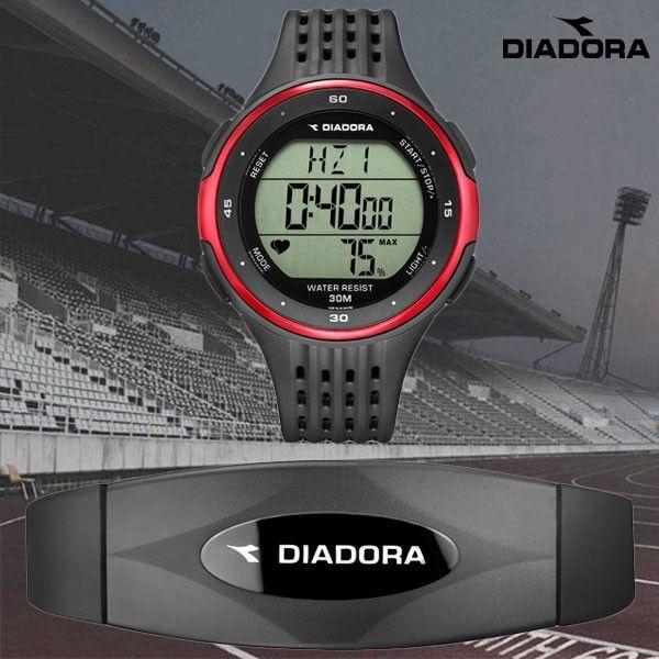 Diadora Race Sporthorloges Met Hartslagmeter