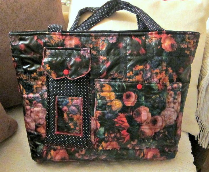 Vintage Flowers bag - RiRi Yfasma (RiRiYfasma.gr)