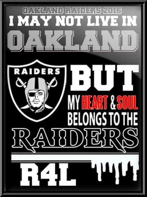 NEBRASKA TERRITORY for The Oakland Raiders!