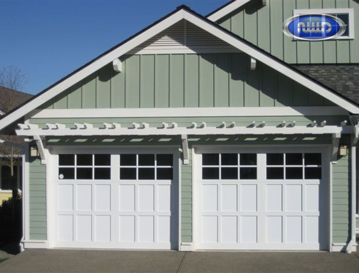 Infinity Classic Model I206S Standard White Garage Doors | Infinity Classic - Aluminum Garage Door | Pinterest | Garage doors and Doors & Infinity Classic Model I206S Standard White Garage Doors ... pezcame.com
