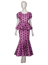 Une costume en tissu daviva veste de princesse avec jupe en queue de poisson cd055