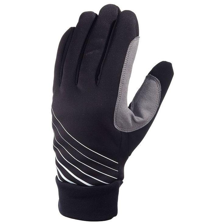 Dětské hřejivé rukavice na běžky černé