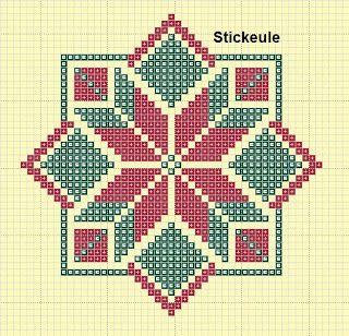 Stickeules Freebies: WEIHNACHTSMUSTER