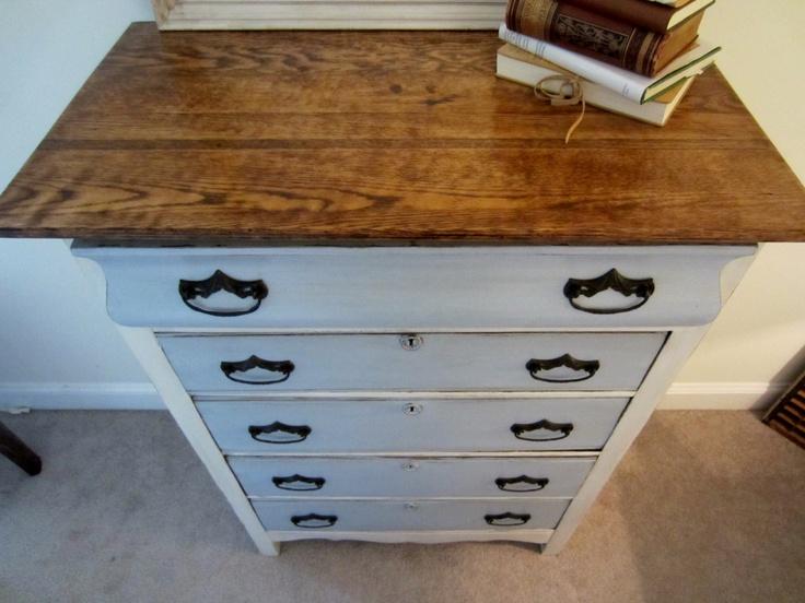 Antique Dresser Redo Painted Dresser Wood Grain White
