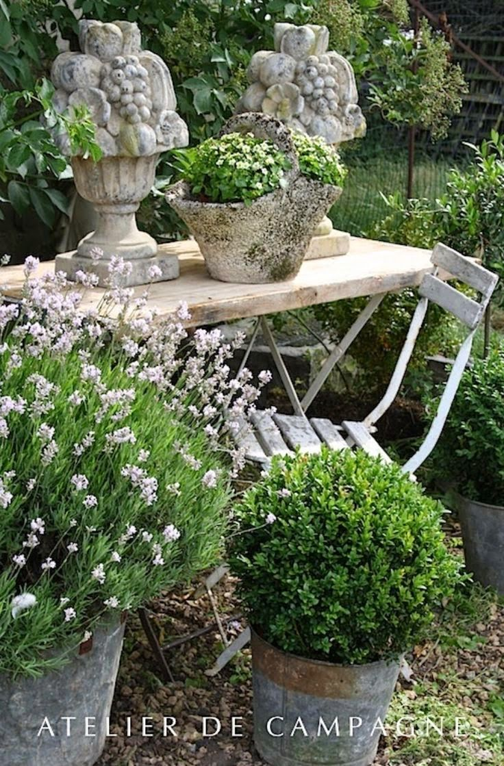 547 best exterior decorative objects images on pinterest for French garden