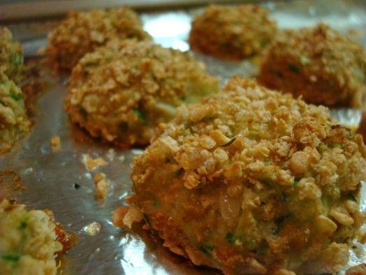 Baked zucchini balls | Veggies: mains & sides | Pinterest