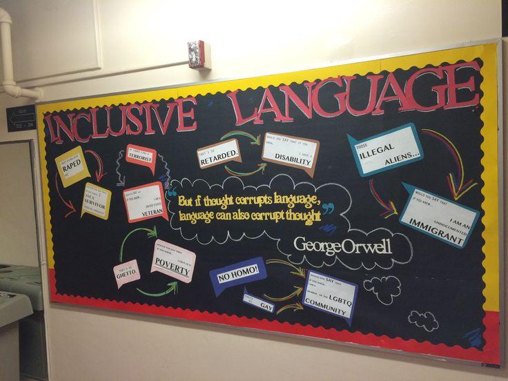 Inclusive Language Diversity Bulletin Board