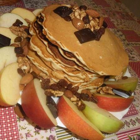 Egy finom Zabpelyhes amerikai palacsinta ebédre vagy vacsorára? Zabpelyhes amerikai palacsinta Receptek a Mindmegette.hu Recept gyűjteményében!