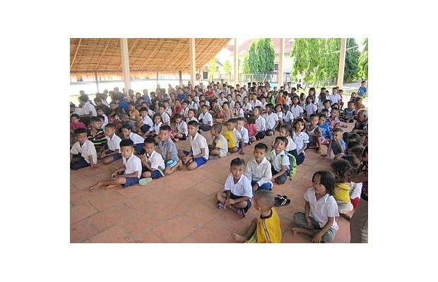 Cambodian orphans donate to help Alberta flood victims