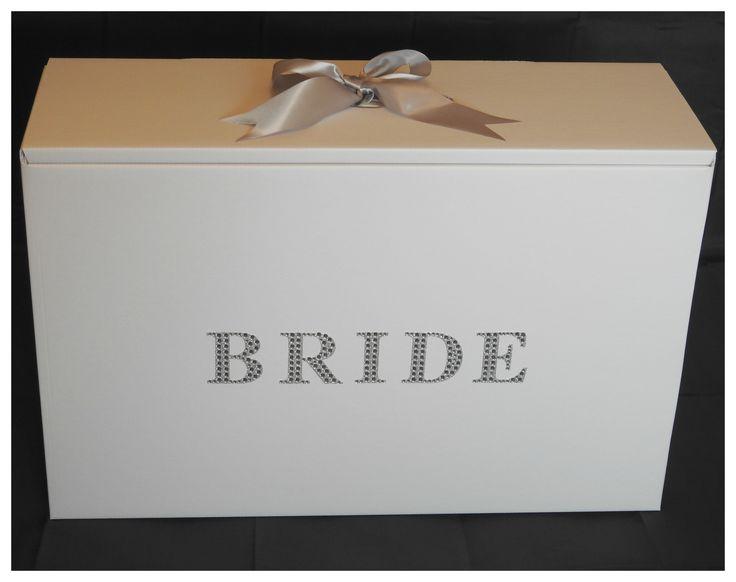Silver Diamante Bride Wedding Dress box from http://www.bonbod.com