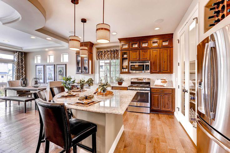 Outstanding!!!! ~ Oakwood Home Gunnison Plan Kitchen\/Dining Room - oakwood homes design center