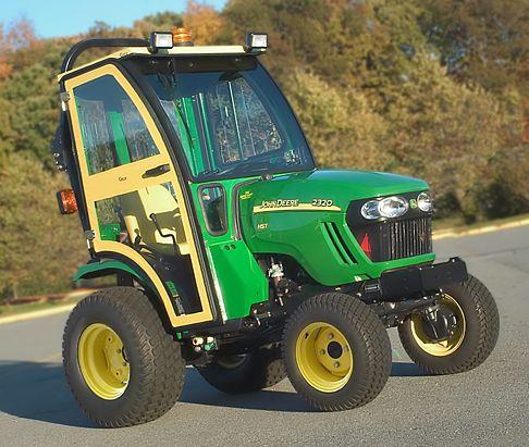 John Deere Compact Tractor - 2320/2520/2720 Series