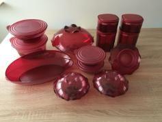 Tupperware Eleganzia rot