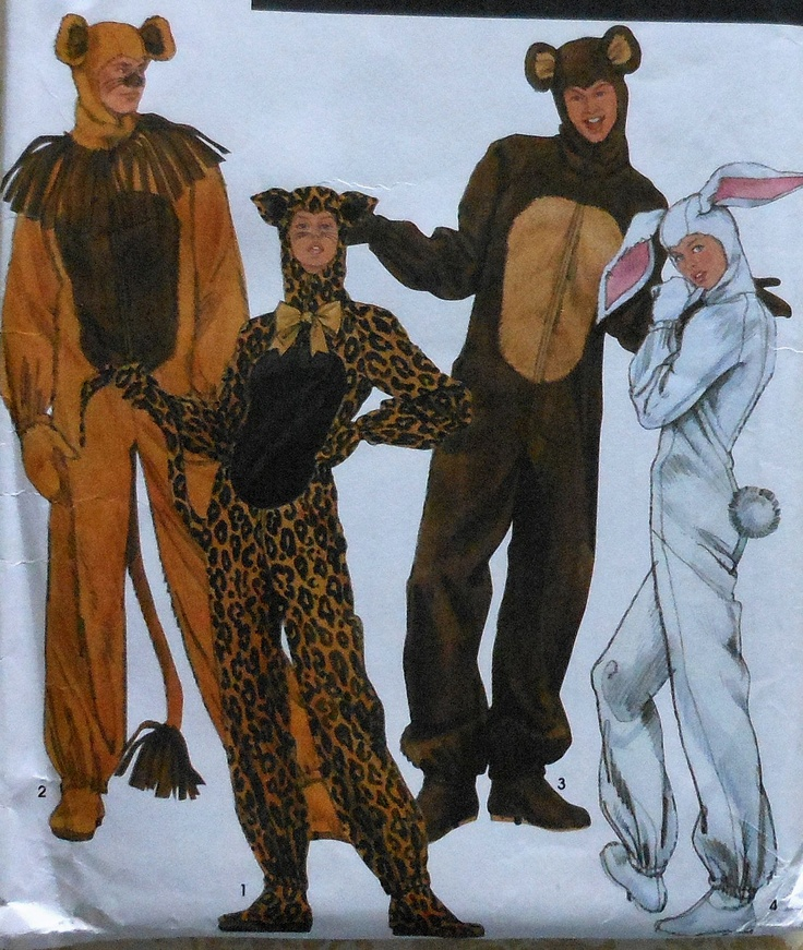 Adult bear costume patterns