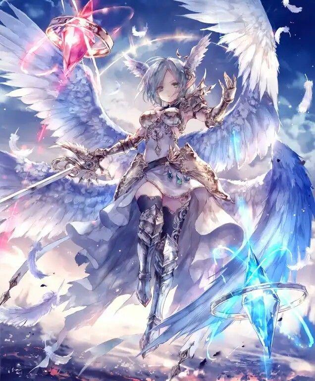 Battle Mage Anime Art Fantasy Anime Art Girl Anime Warrior