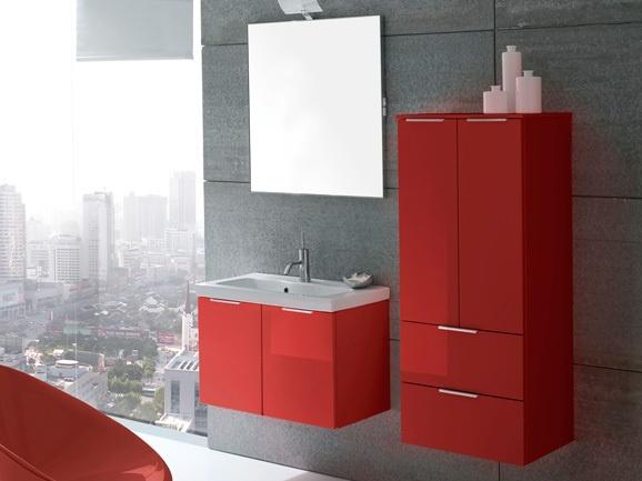 25 best ideas about arredo bagno rosso su pinterest for Due piani camera da letto con due bagni