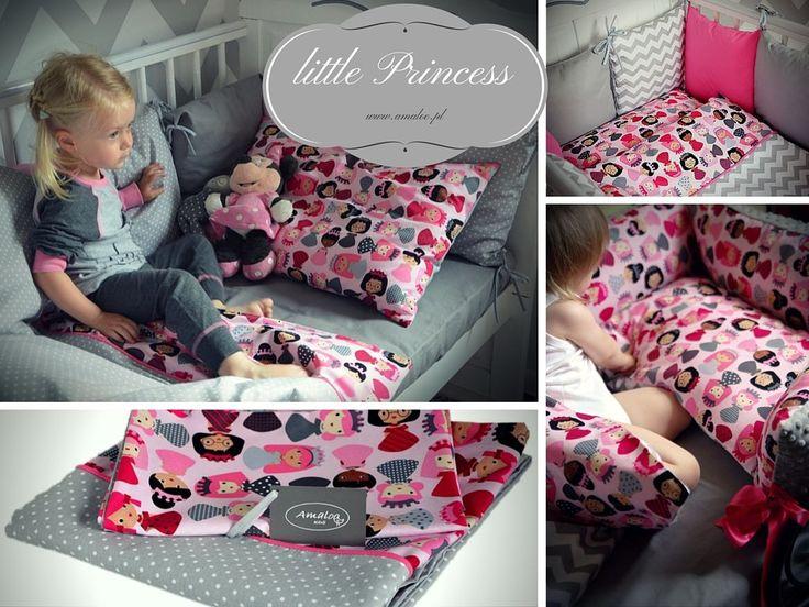 pościel dla dzieci Mała Księżniczka #amaloo #poscieldladzieci #babybedding #littleprincess
