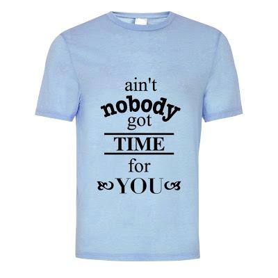 No Time T-Shirt. (S M L XL) Order: 087782342244 info@excelcy.com