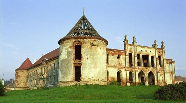 Banffy Castle (Bontida Banffy Castle) is an architectonic Baroque monument situated in Bontida, a village in the vicinity of Cluj-Napoca, Romania. The castle was desecrated during WWII by German troops and neglected by communist regime in Romania, it is currently being restored by the Transylvania Trust. The construction of the castle started in 1437 and was completed in 1543.