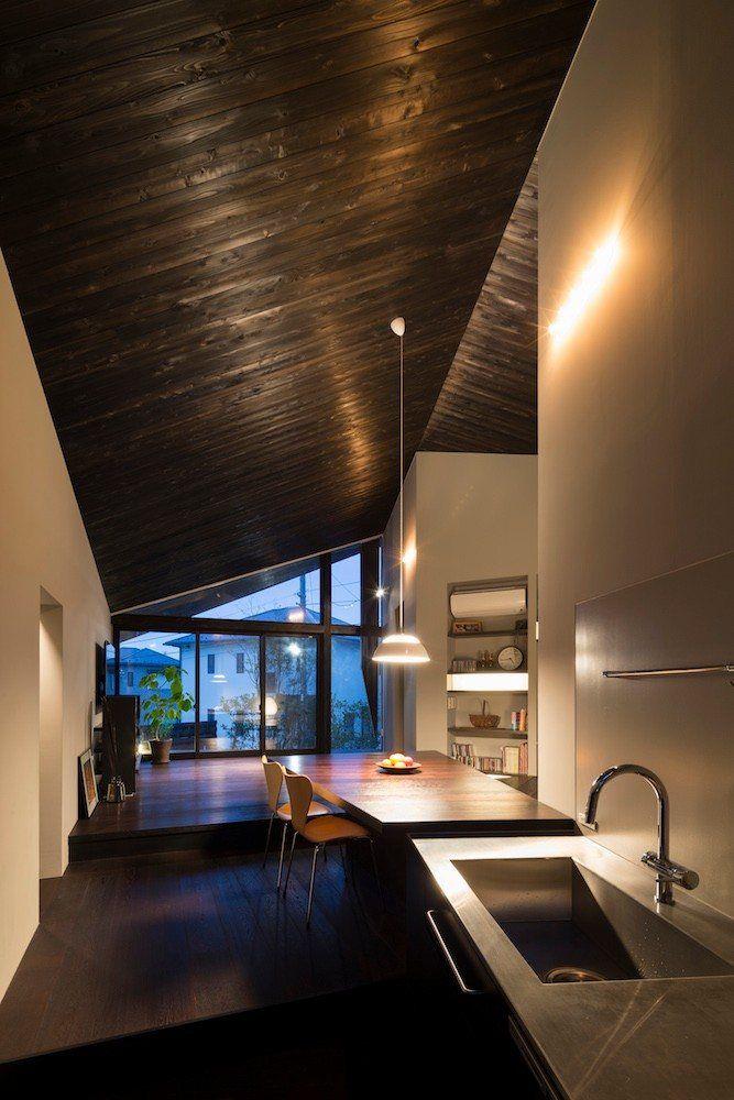 Naruse house machida 2013 mds architectural studio japan interiors japanese