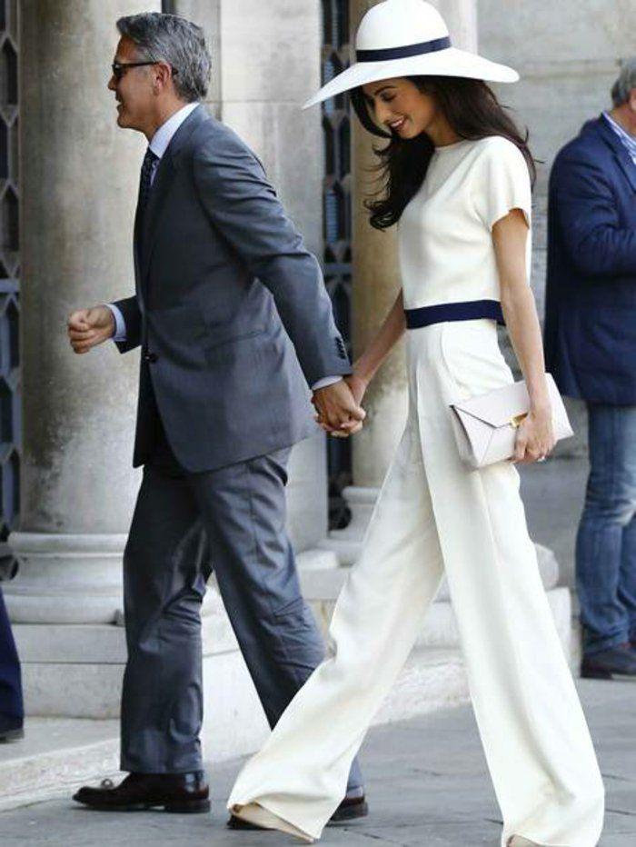 Tailleur pantalon femme mariage pantalon de tailleur femme style formel #pochette_mariage chez www.cetaellecetalui.com