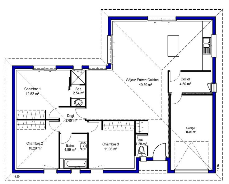 217 best Plan Maison images on Pinterest Floor plans, Dream home
