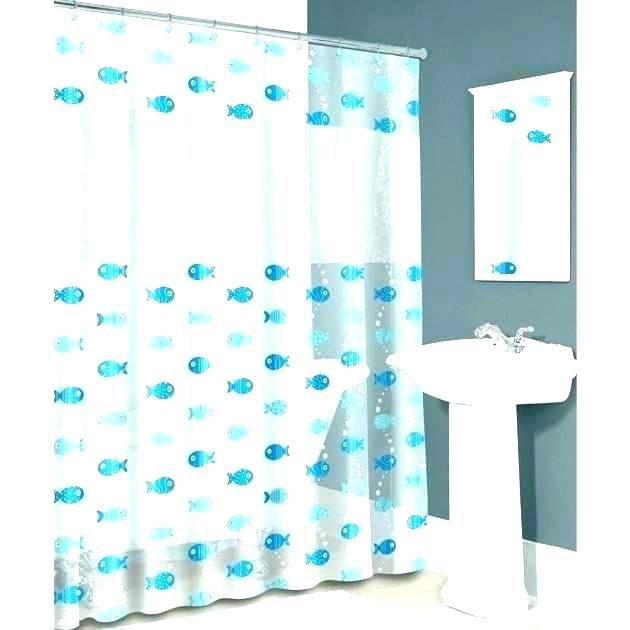 See Through Shower Curtain Elegant Clear See Through Shower