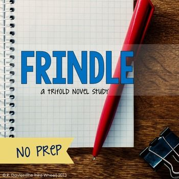 18 Best Novel Study - Frindle images | Andrew clements ...