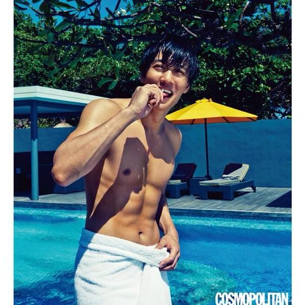 Kim Rae Won #cosmopolitan #photoshoot at Luna2 private hotel #Bali