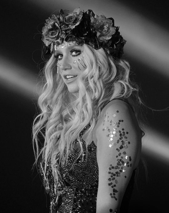 Ke$ha   • • • Follow now & Pin  Kel Thomson.