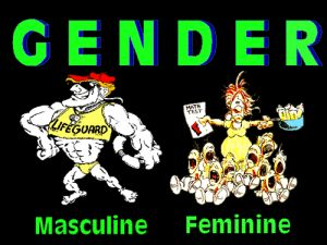 This is an example of gender stereotyping in the media. This ...