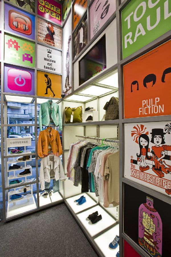 Exceptional Product Display Ideas At Innovative Store Concept Interior Design At Disco  Experience Store, Photo Product Display Ideas At Innovative Store Conceu2026