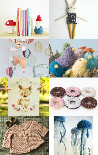 Kids and baby gifts by Josefina Marambio Márquez on Etsy--Pinned with TreasuryPin.com