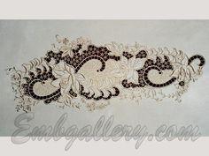 FSL & Cutwork Lace | Machine Embroidery