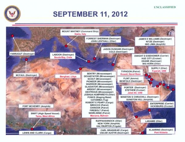 Does Navy Map Alter the Benghazi Narrative