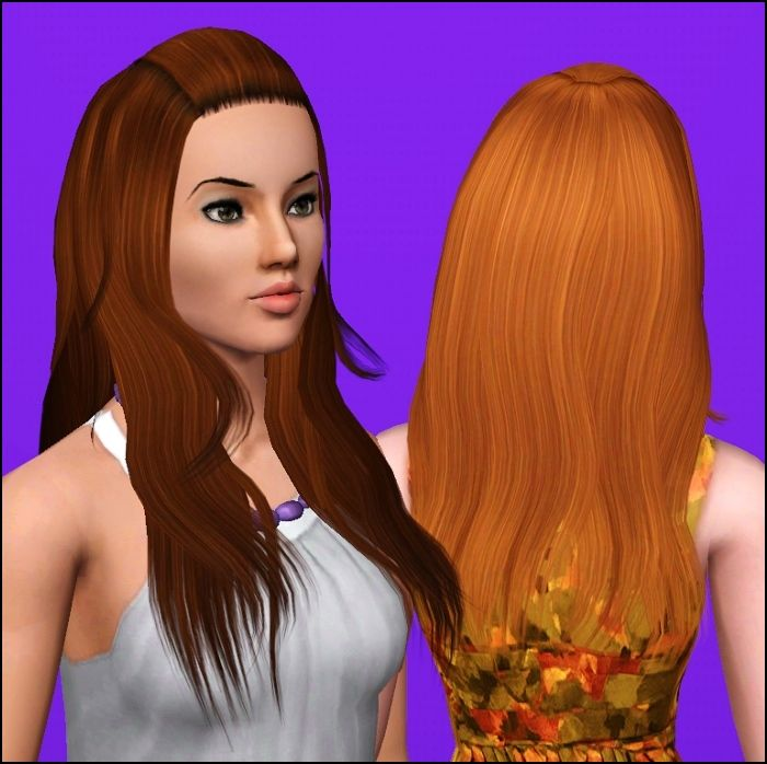 how to get custom hair on sims 2