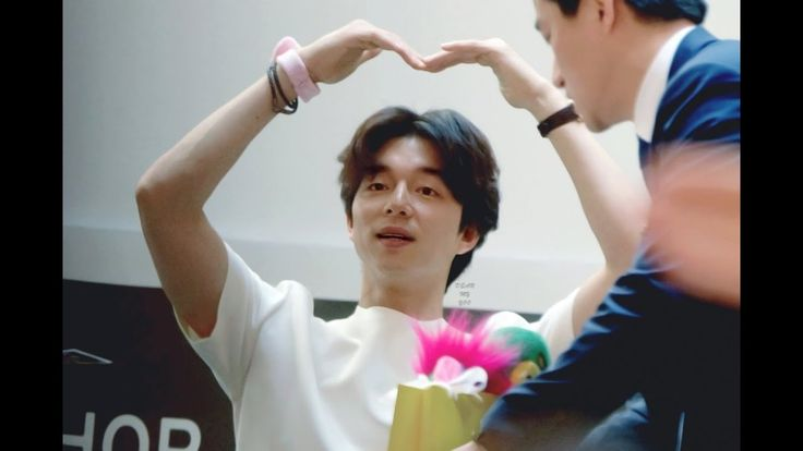 Gong Yoo 공유 at The Body Shop Korea  Fansign Event at the Lotte World Mal...